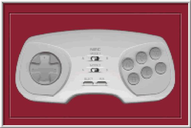 NEC PC Engine Turbografx-16 Game Pad Pixel Art Xtreme Retro