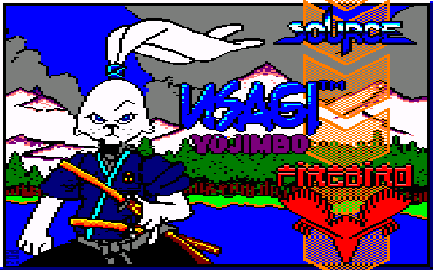 Samurai Warrior The Battles of Usagi Yojimbo Amstrad CPC Xtreme Retro