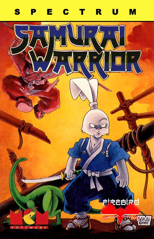 Samurai Warrior the Battles of Usagi Yojimbo ZX Spectrum Cover Xtreme Retro