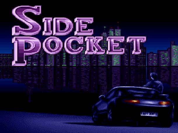 Side Pocket Data East Arcade Sega Genesis Mega Drive MD Super Nintendo SNES Xtreme Retro 1