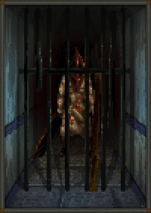Silent Hill Origins Zero Pixel Art Xtreme Retro Konami