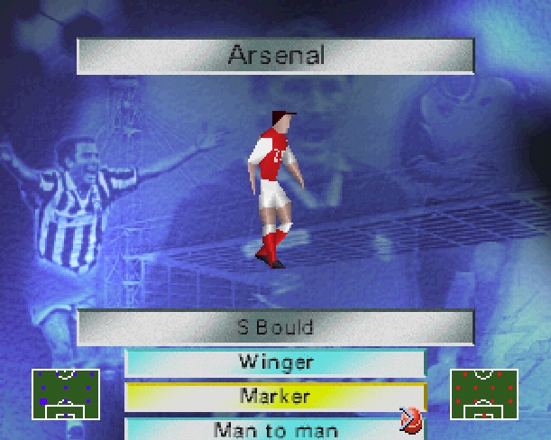 Soccer 97 Eidos Sony PlayStation PSX PSone Xtreme Retro 13