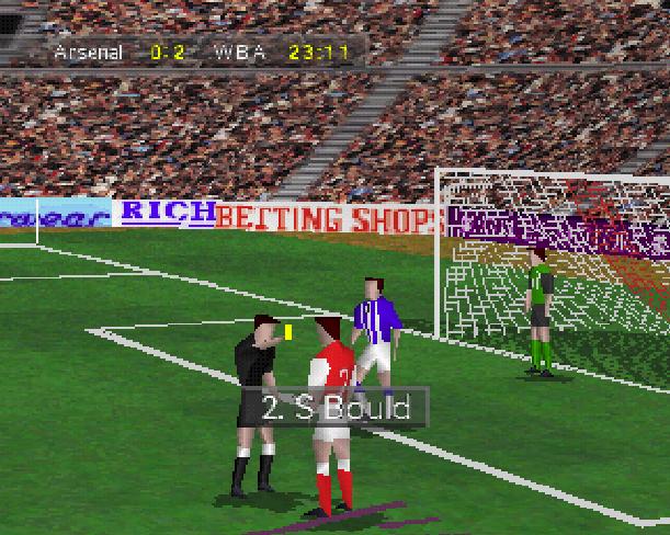Soccer 97 Eidos Sony PlayStation PSX PSone Xtreme Retro 15
