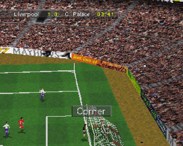 Soccer 97 Eidos Sony PlayStation PSX PSone Xtreme Retro 6
