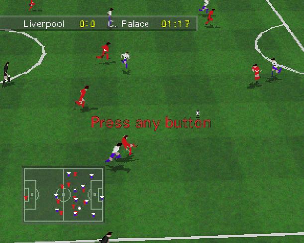 Soccer 97 Eidos Sony PlayStation PSX PSone Xtreme Retro 8