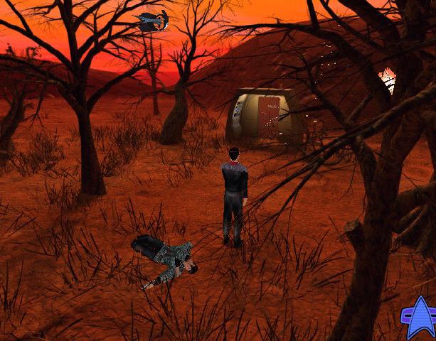 Star Trek Hidden Evil Proein Activision Presto Studios Windows PC Xtreme Retro 16