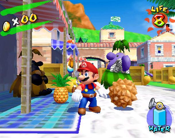 Super Mario Sunshine Nintendo GameCube GC Xtreme Retro 1