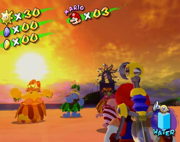 Super Mario Sunshine Nintendo GameCube GC Xtreme Retro 6