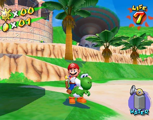 Super Mario Sunshine Nintendo GameCube GC Xtreme Retro 8