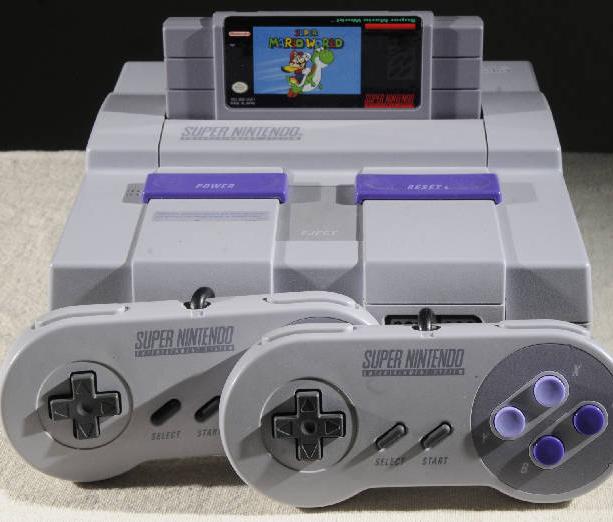 Super Nintendo EEUU Xtreme Retro Picture