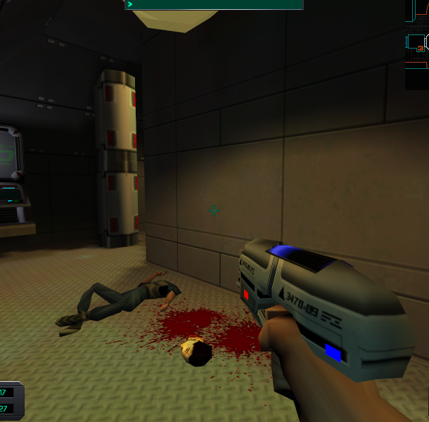System Shock 2 Irrational Games Looking Glass Studios Electronic Arts FPS RPG Adventure Survival Horror PC Xtreme Retro 15