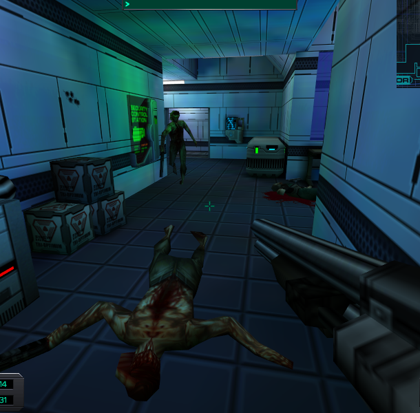 System Shock 2 Irrational Games Looking Glass Studios Electronic Arts FPS RPG Adventure Survival Horror PC Xtreme Retro 16