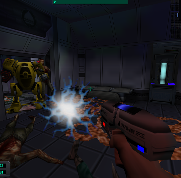 System Shock 2 Irrational Games Looking Glass Studios Electronic Arts FPS RPG Adventure Survival Horror PC Xtreme Retro 19