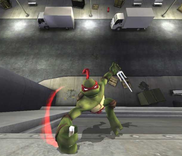 TMNT Teenage Mutant Ninja Turtles The Movie Ubisoft Beat'em up Xbox 360 Nintendo Wii PlayStation 2 PS2 GameCube GC PC PSP Xtreme Retro 1