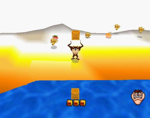 Taz Express Infogrames Nintendo 64 N64 Xtreme Retro 1