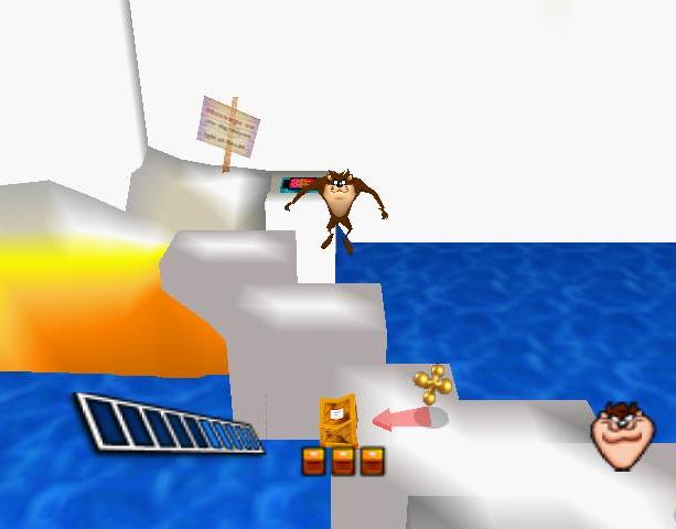 Taz Express Infogrames Nintendo 64 N64 Xtreme Retro 4