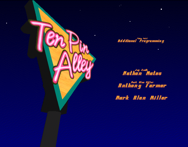 Ten Pin Alley Electronic Arts Sony PlayStation PSX PSone Sega Saturn PC Xtreme Retro 2