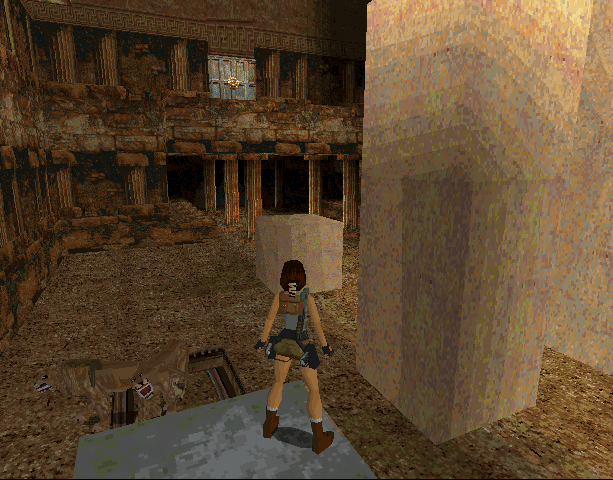 Tomb Raider Core Design Eidos Interactive Sega Saturn MS-DOS PC Sony PlayStation PSX PSone N-Gage Xtreme Retro 15