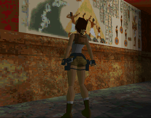 Tomb Raider Core Design Eidos Interactive Sega Saturn MS-DOS PC Sony PlayStation PSX PSone N-Gage Xtreme Retro 17