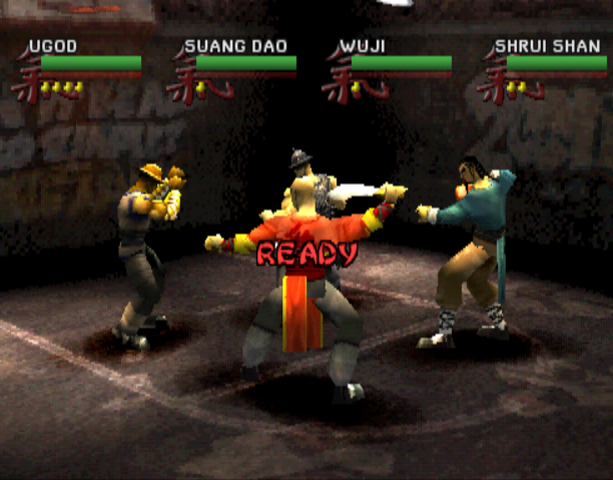 Wu-Tang Clan Shaolin Style Taste the Pain Activision Sony PlayStation PSX PSone Beat'em up Xtreme Retro 4