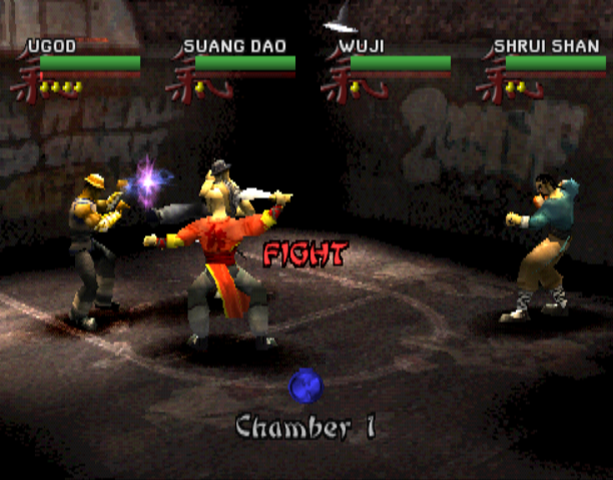 Wu-Tang Clan Shaolin Style Taste the Pain Activision Sony PlayStation PSX PSone Beat'em up Xtreme Retro 5
