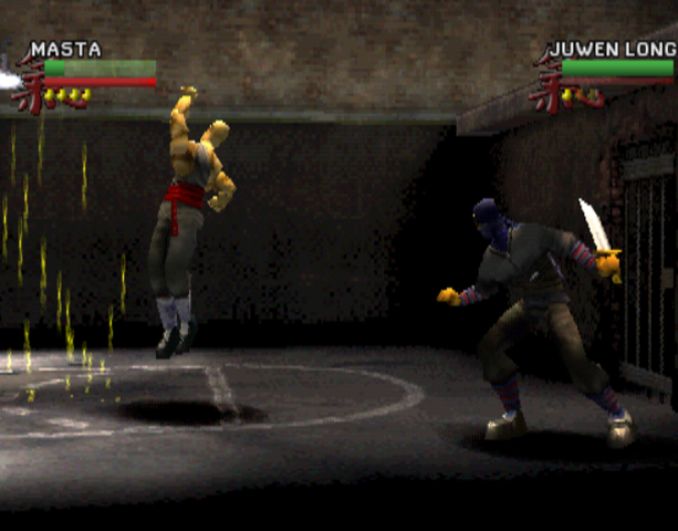 Wu-Tang Clan Shaolin Style Taste the Pain Activision Sony PlayStation PSX PSone Beat'em up Xtreme Retro 6