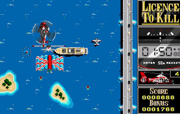 007 Licence to Kill Domark Ltd Quixel Amiga Amstrad CPC Atari ST BBC Micro Commodore 64 C64 DOS MSX ZX Spectrum Xtreme Retro 5