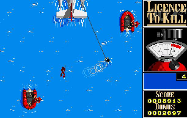 007 Licence to Kill Domark Ltd Quixel Amiga Amstrad CPC Atari ST BBC Micro Commodore 64 C64 DOS MSX ZX Spectrum Xtreme Retro 6