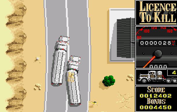 007 Licence to Kill Domark Ltd Quixel Amiga Amstrad CPC Atari ST BBC Micro Commodore 64 C64 DOS MSX ZX Spectrum Xtreme Retro 7