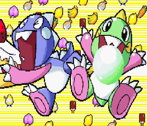 Bubble Bobble Old & New Taito Nintendo Game Boy Advance GBA Xtreme Retro Pixel Art