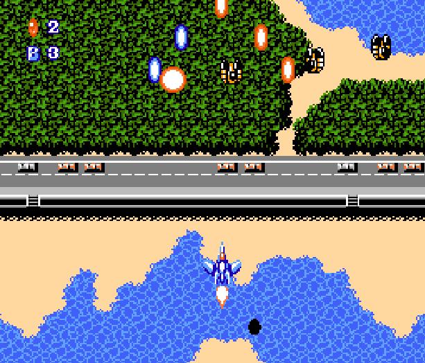 Crisis Force Konami Famicom Shoot em up Xtreme Retro