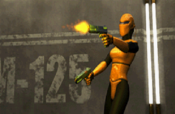 Dark Arena THQ Nintendo Game Boy Advance GBA FPS Pixel Art Xtreme Retro