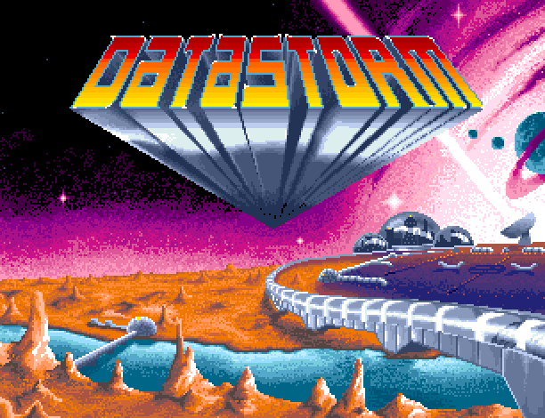 DataStorm Commodore Amiga Shoot'em up Xtreme Retro