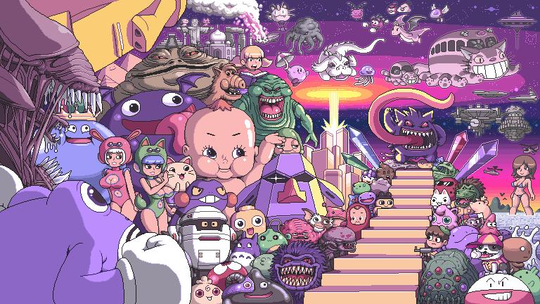 E3 Pixel Art Xtreme Retro