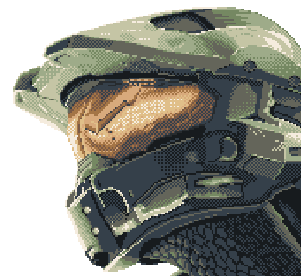 Halo Combat Evolved Bungie Studios Gearbox Software Microsoft Xbox Windows FPS Pixel Art Xtreme Retro 2