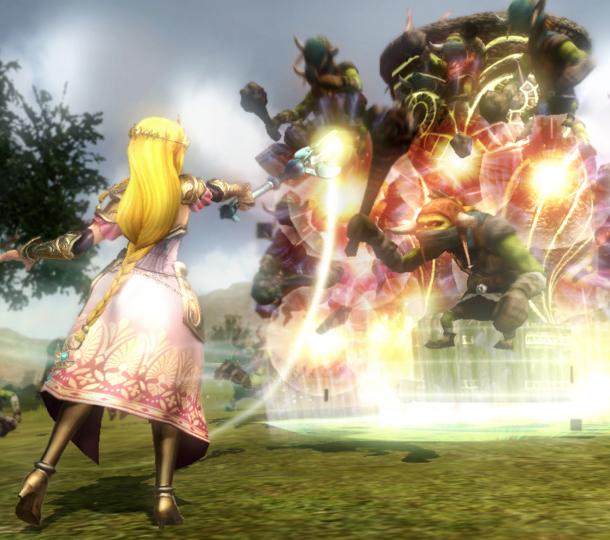 Hyrule Warriors Omega Force Team Ninja Nintendo Tecmo Koei Wii U 3DS Xtreme Retro 6