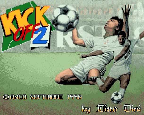 Kick Off 2 Anco Software Amstrad CPC Atari ST Commodor 64 DOS Sharp X68000 Super Nintendo SNES ZX Spectrum Xtreme Retro 1