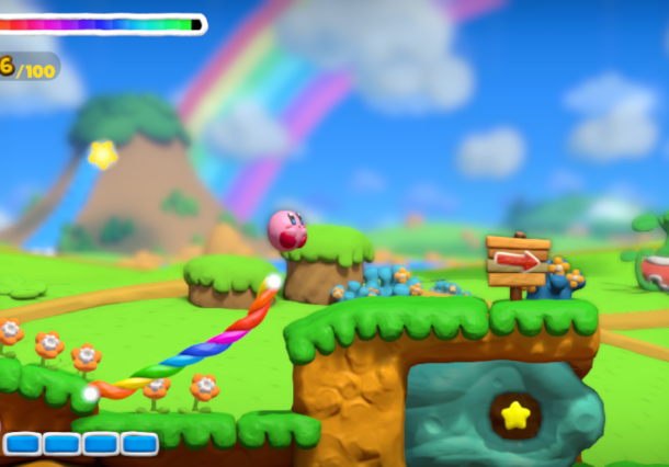 Kirby and the Rainbow Curse Hal Laboratory Nintendo Wii U Xtreme Retro 1