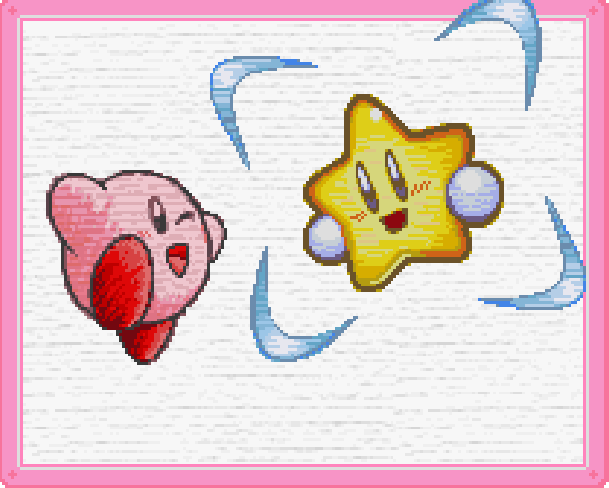 Kirby and the Rainbow Curse Hal Laboratory Nintendo Wii U Xtreme Retro Pixel Art