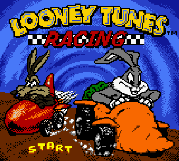 Looney Tunes Racing Infogrames Nintendo Game Boy Color GBC Xtreme Retro 1