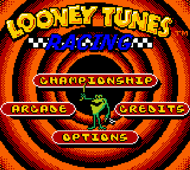 Looney Tunes Racing Infogrames Nintendo Game Boy Color GBC Xtreme Retro 2