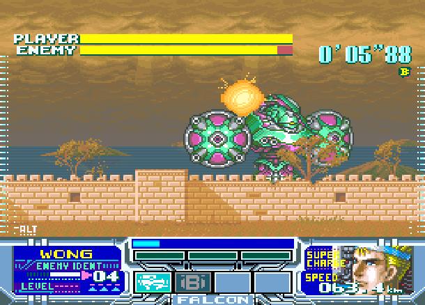 Metal Combat Falcons Revenge SNES Super Nintendo Super Scope Xtreme Retro 3