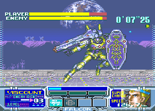 Metal Combat Falcons Revenge SNES Super Nintendo Super Scope Xtreme Retro 5