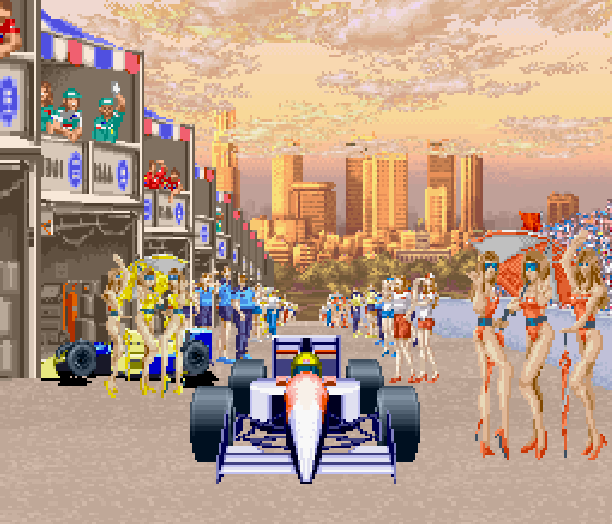 MicroProse Formula One Grand Prix PC Amiga Atari ST Xtreme Retro Pixel Art
