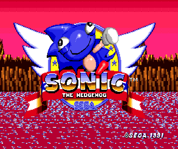 Mr Needlemouse Sega Sonic the Hedgehog Hack Genesis Mega Drive MD Xtreme Retro 1