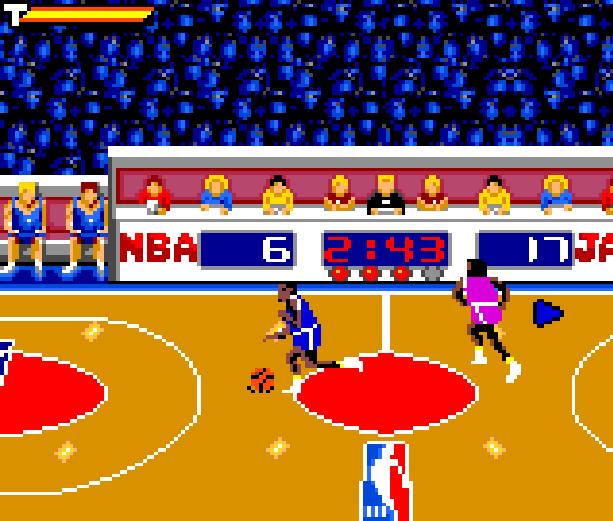 NBA Jam Midway Acclaim Sega Game Gear GG Xtreme Retro 10
