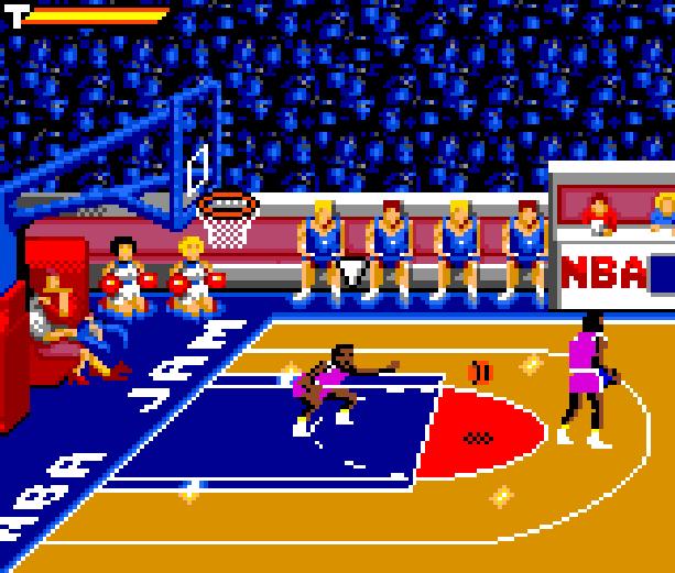 NBA Jam Midway Acclaim Sega Game Gear GG Xtreme Retro 6