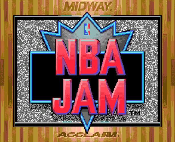 NBA Jam Midway Acclaim Sega Genesis Mega Drive MD Xtreme Retro 1