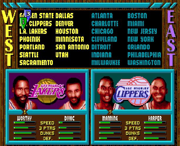 NBA Jam Midway Acclaim Sega Genesis Mega Drive MD Xtreme Retro 2