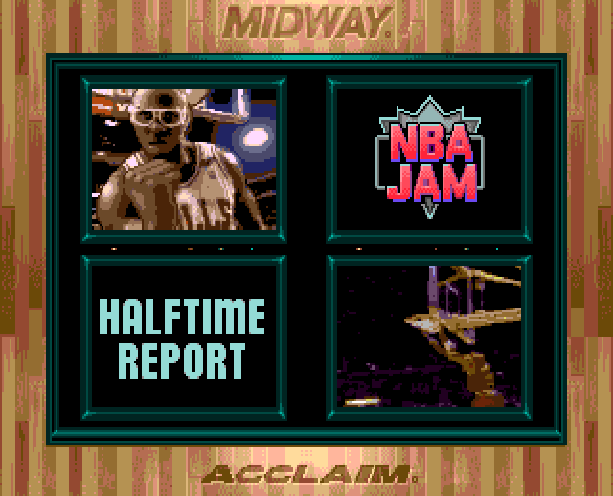 NBA Jam Midway Acclaim Sega Genesis Mega Drive MD Xtreme Retro 4